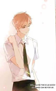 Love Like Cherry Blossoms- Xia yi Anime Couples Manga, Cute Anime Couples, Cute Anime Boy, Anime Art Girl, Manga Drawing, Manga Art, Anime Cherry Blossom, Cherry Blossoms, Musaigen No Phantom World