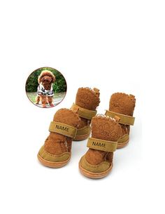 DG Custom Graphics is your premier site for custom designed pet apparel.    We can design your puppy dog shoes booties boots with your custom artwork, text or pet name. Forward your artwork with one color. If additional colors are needed we can provide a custom quote.    Forward us the following info and we will send you a proof of the finished product.    1.Pick One Color (Choices: Blue, Black, White, Red) Additional colors available upon request and with a surcharge.  2.Upload Artwork to…