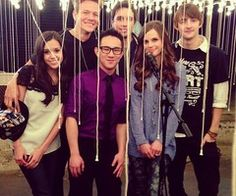 Megan Nicole, Jason Chen, Tiffany Alvord Tyler Ward, Chester See and Dave Days <3