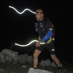 MMT 100 MILE ENDURANCE TRAIL RUN night training in Dolomiti Mountain http://www.magredimountaintrail.com