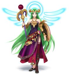 Palutena Color Swap - Characters & Art - Super Smash Bros. for 3DS and Wii U