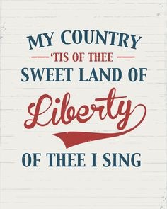 Memorial Day, July - Red, White, Blue - My Country Tis of Thee.sweet land of liberty ~ not to be taken for granted. I Love America, God Bless America, America America, Happy 4 Of July, Fourth Of July, We Are The World, In This World, Project Life, Independance Day