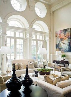 Thousands of curated home design inspiration images by interior design professionals, architects and decorators. Inspiration for every room in the home! Home Living Room, Living Room Designs, Living Spaces, Living Area, Cozy Living, Small Living, Style At Home, Beautiful Interiors, Beautiful Homes