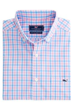 Saddle Bay Plaid Classic Tucker Shirt