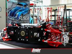 Front Suspension - VW Beetle & Bus - Products - iMohr Technic & Design Kombi Pick Up, Beach Buggy, How To Run Faster, Vw Beetles, Garages, The Struts, Racing, Design, Motorcycles