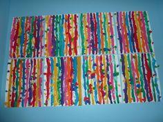 Lignes verticales à la peinture | Ecole de Saint Gervais Sur Mare Trait Vertical, Saint Gervais, Colour Field, Art Activities For Kids, Art Lesson Plans, Dream Decor, Art Plastique, Kids House, Art Lessons
