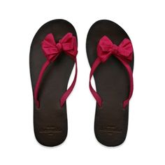 classic bow abercrombie flip flops:)