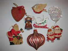 Hey, I found this really awesome Etsy listing at https://www.etsy.com/listing/115314179/vintage-christmas-tree-decoration-lot