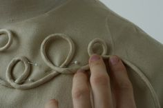 Cording Tutorial - made your very own fabric covered cord