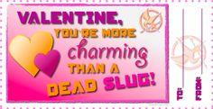 Hunger Games Valentines!