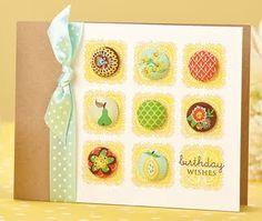 Embellished Birthday Wishes Card by @Jess Liu Witty
