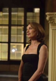 "Obsessed with the black dress Ayelet Zurer's character wears in ""Daredevil"" ep 1.11."