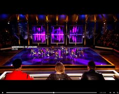 Footage from Facebook Timor Steffens (Jan. 12 2016) on the amazing new TV show 'Battle On the Dancefloor' on RTL 5 January 20th 20:30 hrs. (In front row the members of the jury; from the left: Timor Steffens, Pip Pellens and Dan Karaty.