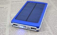 Large capacity Model 800000mah Solar power bank Portable Mobile Phone