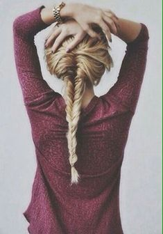 fishtail braid #hair
