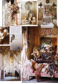 Inside Virginia Bates beautiful home ❤•♥.•:*´¨`*:•♥•❤.