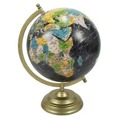 Decorative Desktop World Globe   Globes   Spheres   Pinterest     World Globe Threshold   Found this little beauty in the store  It was only   14 99