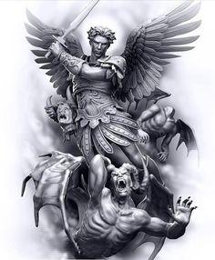 Angel demon art