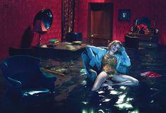 Sleep No More   Natalia Vodianova   Mert & Marcus #photography   W Magazine December 2012