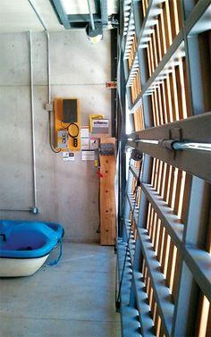 lake tahoe boathouse is opening to the lake view Custom Garage Doors, Custom Garages, Front Gate Design, Door Gate Design, Shop Doors, Carriage Doors, Carport Designs, Roller Doors, Diy Shutters