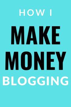 Make Money Blogging, Make Money From Home, Way To Make Money, Earn Money, Make Money Online, Online Income, Online Earning, Online Jobs, The Secret Money