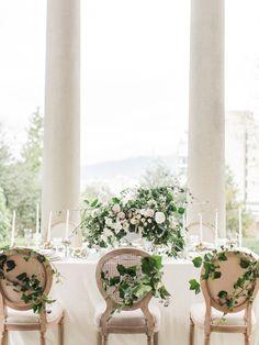 classic outdoor wedding reception decoration ideas with nude colors Wedding Reception Decorations, Wedding Centerpieces, Wedding Receptions, Wedding Bells, Floral Wedding, Wedding Flowers, Ethereal Wedding, Elegant Wedding, Classic Weddings
