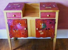 butterfly cabinet by fellinadesigns on Etsy