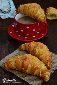 Croatian Recipes, Hungarian Recipes, Baking Recipes, Snack Recipes, Dessert Recipes, Salty Snacks, Winter Food, No Bake Cake, Brunch