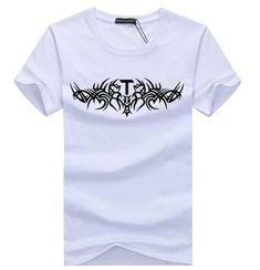 5aedb76bd54 brands Men T-Shirt Short Sleeve Plus Size S- 5XL TShirts Casualeticdress Mens  Tee