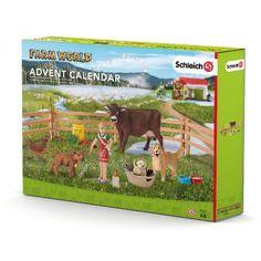 Schleich 97335 Farm Life 2016 Advent Calendar Playset for sale online Schleich Horses Stable, Ukulele Design, Le Weekend, Lego, Advent Calenders, 2016 Calendar, Folding Doors, Vintage Children's Books, Toy Store