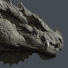 Sculpt based on concept by the amazing Jaemin Kim: https://www.artstation.com/artwork/dragon-2301c4d7-fb08-4a0e-b726-61c268fe93b1