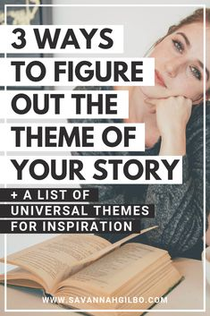 What is theme? Theme is the underlying message you want readers to take away from your story. Learn how to figure out the theme of your story in this post. Creative Writing Tips, Book Writing Tips, Writing Quotes, Fiction Writing, Writing Resources, Writing Prompts, Writing Workshop, Writing Corner, Writer Tips