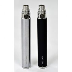 awesome eGo Twist (Variable Voltage VV) Battery -Silver-1100mAh