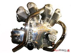 Carberry Enfield V-Twin Double Barrel for Royal Enfield from India