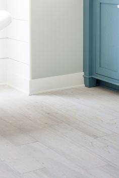 White washed faux wood tile flooring |white Salerno Porcelain Tile Wilderness Series in White from BuildDirect