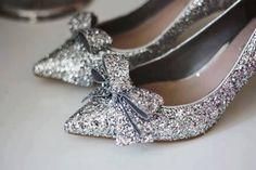 Silver Dazzle Bow