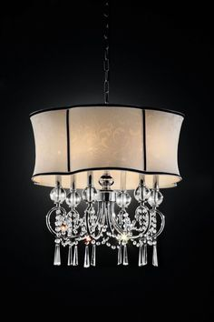 "L95131H CEILING LAMPLike Lamp.DIMENSIONS: L95131H | CEILING LAMP 23""L X 23""W X 25""H (1PC/CTN) Hanging Crystal"