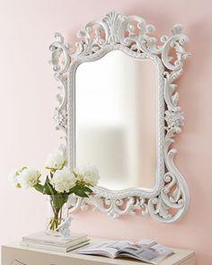 """Madeline"" Baroque Mirror - Horchow"