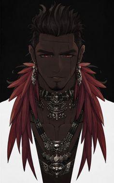 🍂 S-Kinnaly 🍂🌙 (@s_kinnaly) | Twitter Fantasy Character Design, Character Design Inspiration, Character Concept, Character Art, Concept Art, Black Anime Characters, Dnd Characters, Fantasy Characters, Art Drawings Beautiful