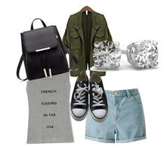 """Untitled #186"" by tunnufn on Polyvore featuring Rebecca Minkoff, Miss Selfridge and Converse"