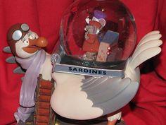 Disney Snowglobe Rescuers Very RARE Limited Edition Very RARE 1 | eBay
