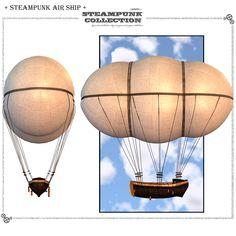 SteamPunk - AirShip Software Transportation Themed jonnte