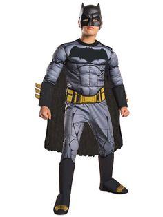 Check out Boy's Batman v Superman Deluxe Batman Costume - Wholesale Party…