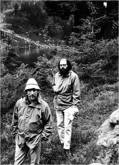 Gary Snyder & Allen Ginsberg in the North Cascades, 1965.