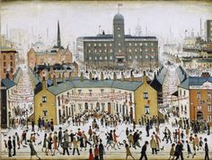 LS Lowry at Tate Britain: glimpses of a world beyond Salford, Photo To Oil Painting, Framing Canvas Art, Tate Britain, Spencer, English Artists, Art Uk, Naive Art, Art For Art Sake
