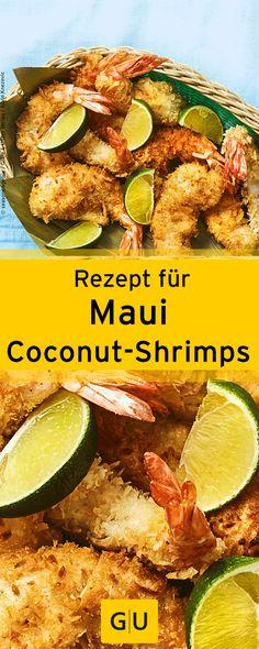"""Rezept für hawaiianische Maui-Coconut-Shrimps im Knuspermantel. Ihr findet es in der Leseprobe zum Buch """"Pacific Food"""".⎜GU"""