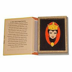 Disney Evil Queen - Snow White and the Seven Dwarfs Big Little Books Pin - D23 | Disney StoreEvil Queen - Snow White and the Seven Dwarfs Big Little Books Pin - D23 - This vintage-styled recreation of the Snow White and the Seven Dwarfs Big Little Book is actually a case that opens to reveal an eerie Evil Queen pin based on original Disney Studio illustrations.
