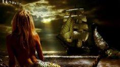 A UNA SIRENA - CARLOS MALO Fantasy Mermaids, Merman, Sirens, Creatures, Concert, World, Painting, Fictional Characters, Art