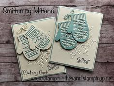 Stampin' in the Sand: Introducing: Smitten Mittens
