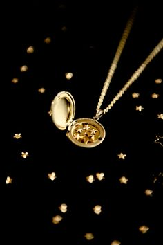 YOU ARE MY SHINING STAR - GARMLANDS GULD & SILVER BY MOKKASIN
